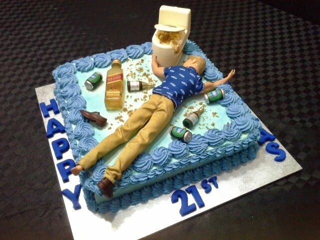 Drunk Ken Cake By Mitchie S Cupcakes Amp Cakes Fondant