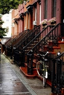 NY: Bike, Favorite Places, Nyc Apartment, Nyc Beautifulspaces, City Life, New York, Nyc Brownstone