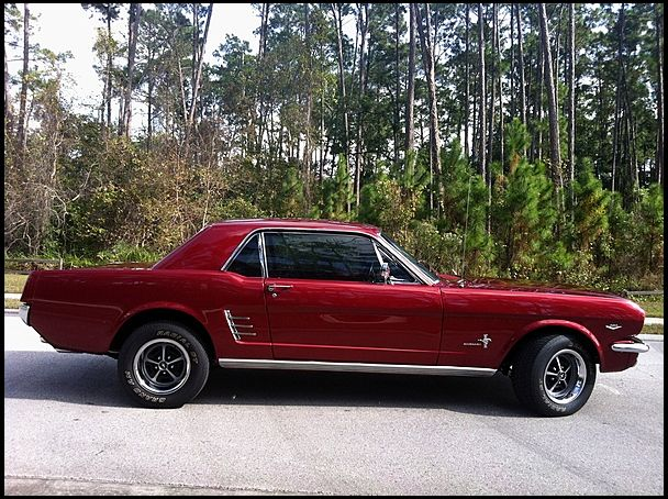1966 Ford Mustang 289, Factory air, Restoration less than 3 yrs old, nice interior and engine bay | Mecum Auctions Kiss 2013 sold 15k