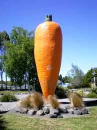 The Big Carrot. Ohakune, New Zealand
