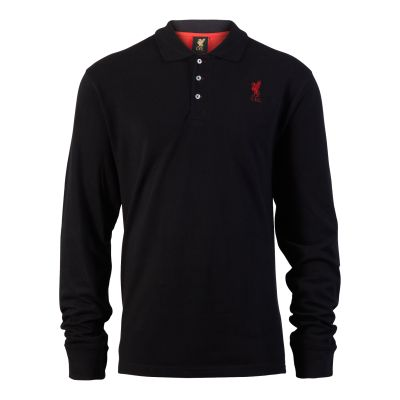 LFC Men's Long Sleeved Polo. Was £28, now £20.