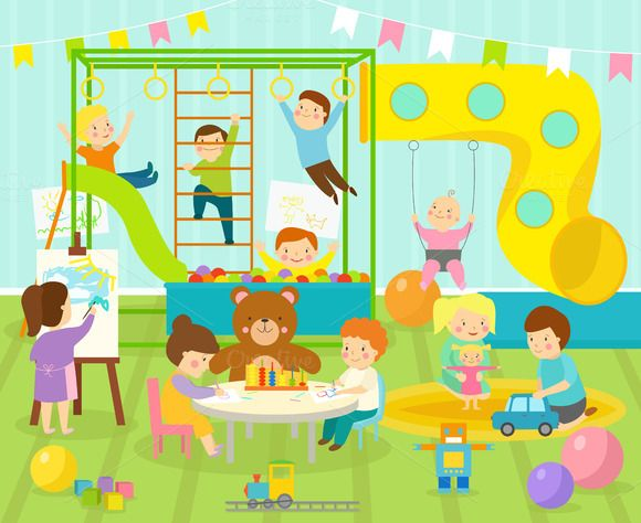 Kids room vector @creativework247