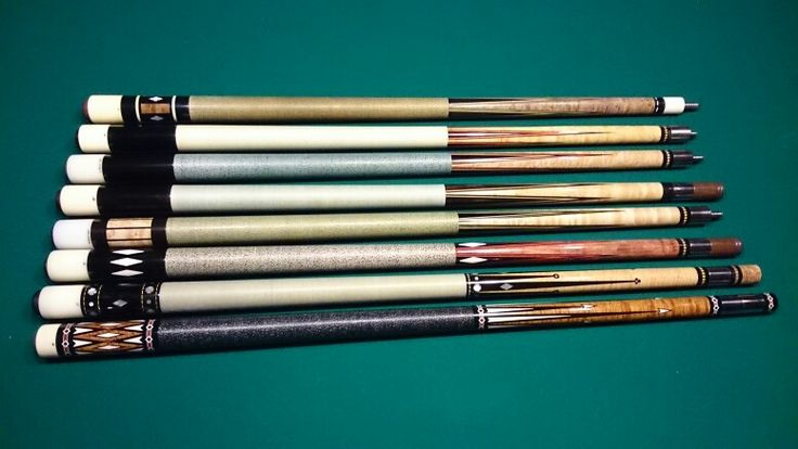 Joss West Bill Stroud Pool Cues Early