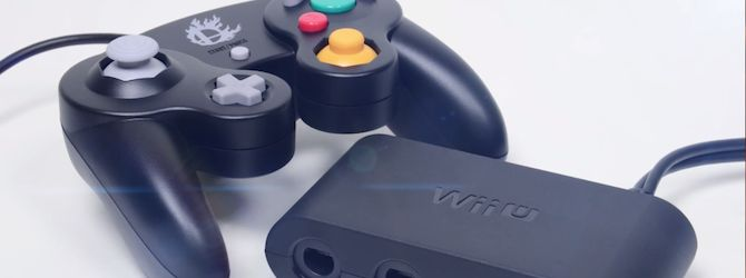 official GameCube controller adapter for Wii U by Nintendo - you can play Smash Bros, Mario bros, Zelda etc with this peripheral. Simply connect the GameCube controller to one of the ports and you're good to go.