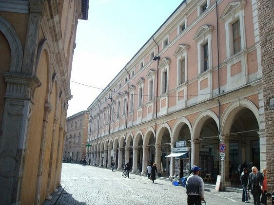 Cesena, Italy. That's ma town