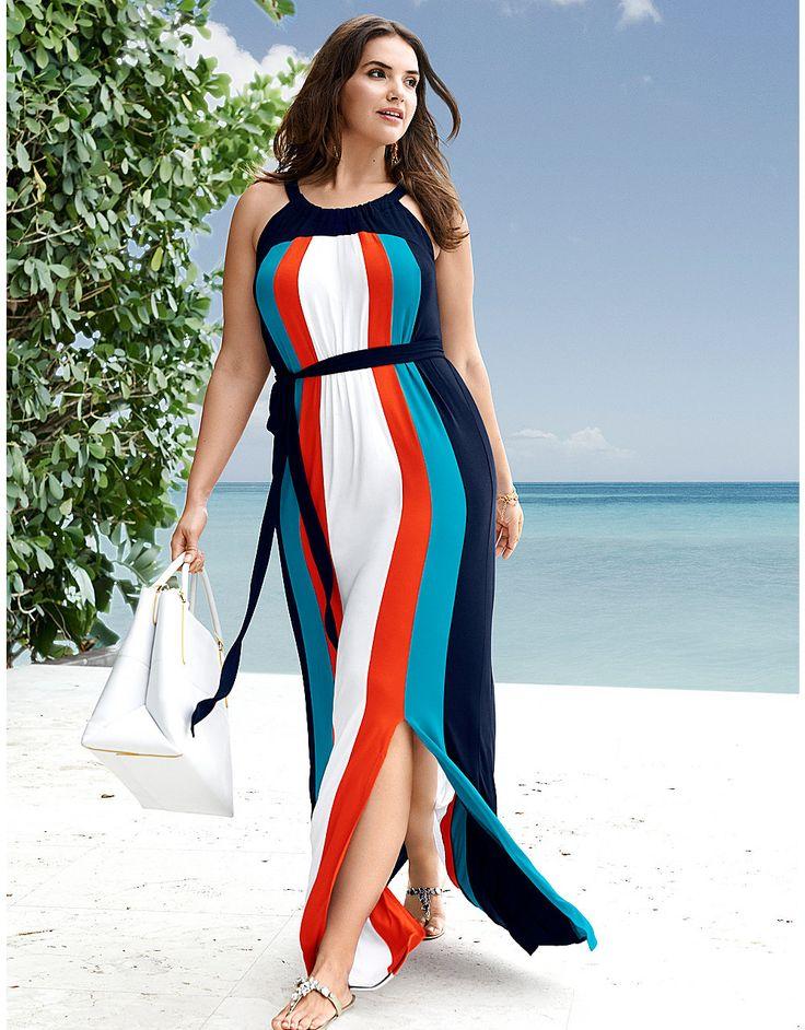 Plus Size Resort Wear Maxi Dress by Lane Bryant   Lane Bryant