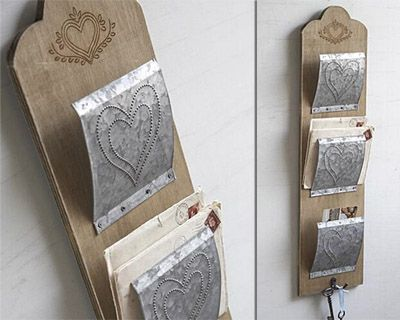 50 Best Images About 258 Letter Holders On Pinterest Mail Holder Entryway And Key Hooks