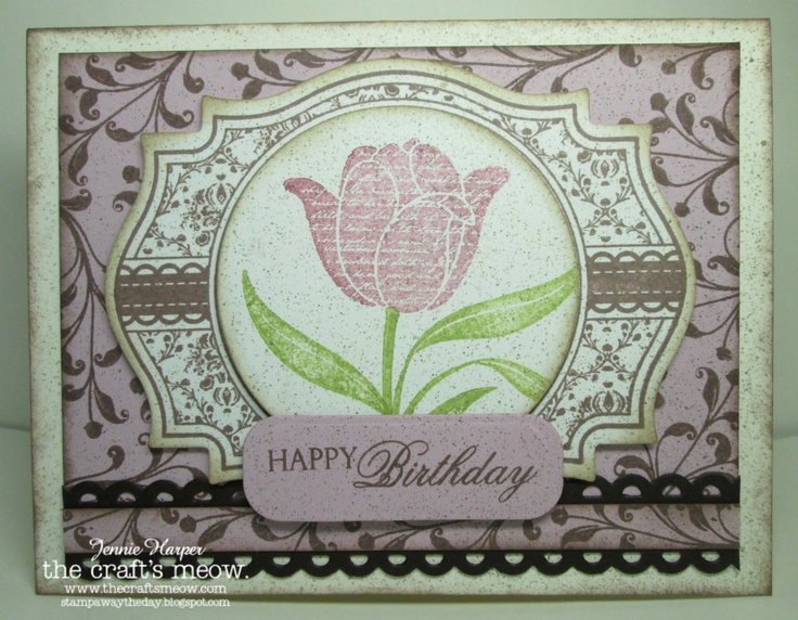 Stampin Away the Day: The Crafts Meow Sketch Blog Hop