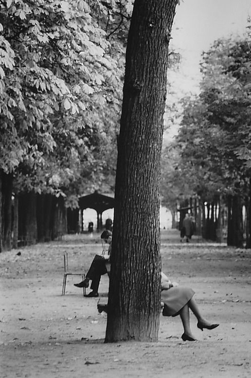 The Champs Elysées, Paris, 1929 by André Kertész.