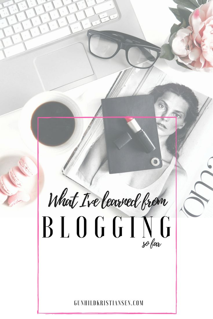 what I've earned from blogging