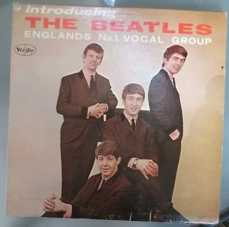 The Beatles, Introducing the Beatles, England's No. 1 Vocal Group, Vintage Record Album, Vinyl LP, Classic Pop Rock Music, British Invasion by VintageCoolRecords on Etsy