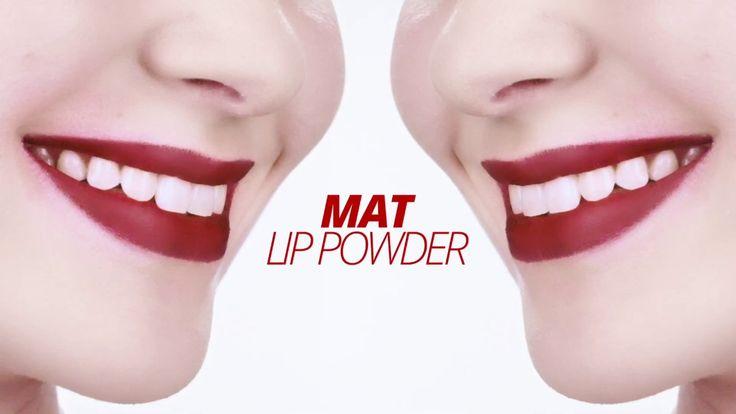Matte Lippen Make-up Tutorial // Mat Lip Powder // ARTDECO