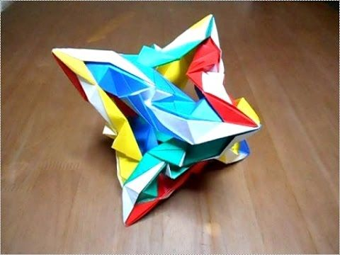 ハート 折り紙:薗部式ユニット折り紙-es.pinterest.com