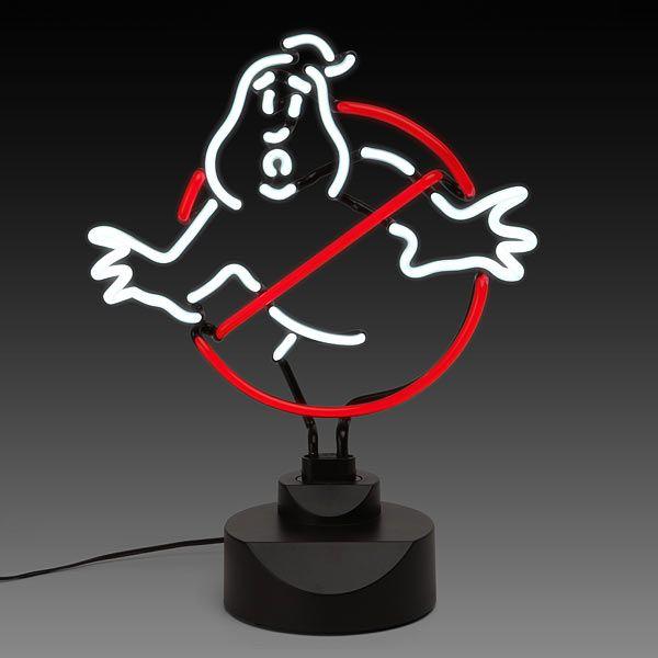 "ThinkGeek :: Ghostbusters 12"" Neon Sign"