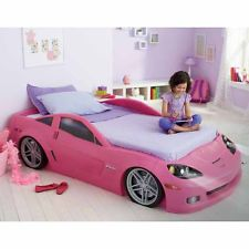 Pink Race Car Bed Google Search Children Pinterest