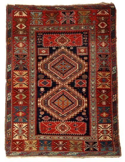 Shirvan Karagashli rug, northeast caucasus, circa 1900 Freeman's carpet sale 9 October 2013