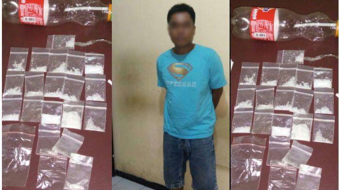 Asyik Mengemas Sabu yang Hendak Dijual, Pria Ini Diciduk Polisi di Kamar Kosnya