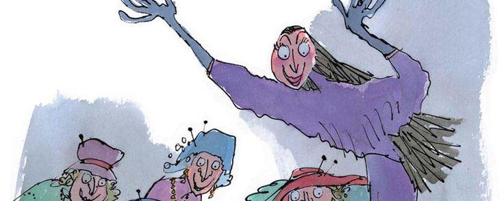 The dark side of Roald Dahl (Credit:Illustration (c) Quentin Blake, 1997)
