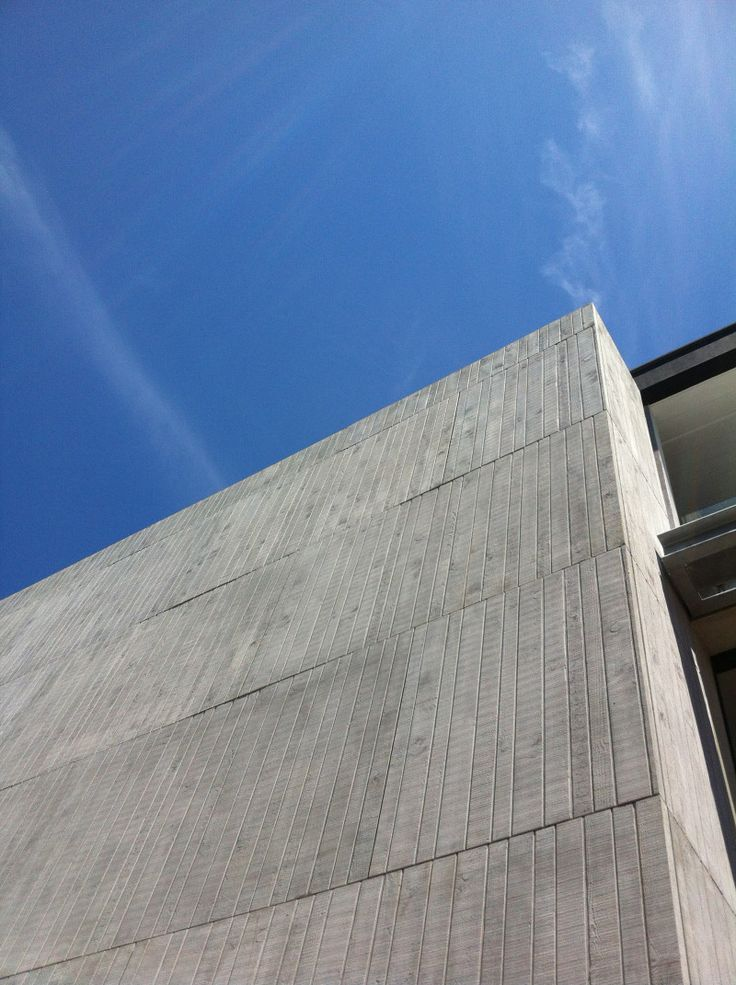 Textured glass reinforced concrete (GRC). Building MaterialsReinforced ...