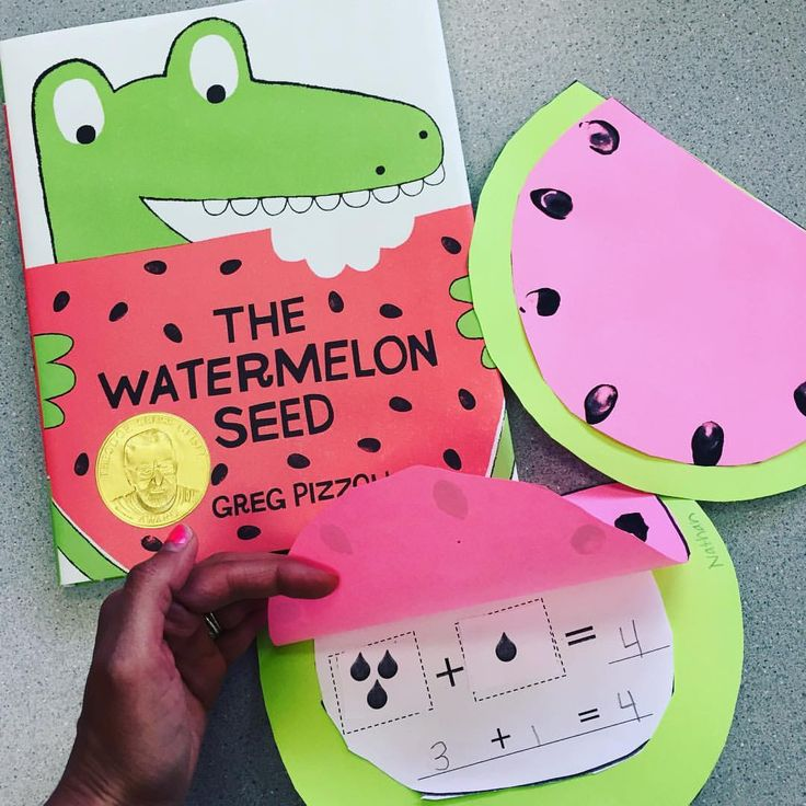 """Michelle Griffo on Instagram: """"Watermelon addition! I've got to get my bulletin boards ready for Open House! (link in profile for  craft) #applesandabcsfavebooks"""""""