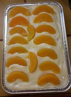 Γλυκό ψυγείου με σαβαγιάρ κρέμα και ροδάκινο…από την Αλεξάνδρα Σουλαδάκη - Donna.gr