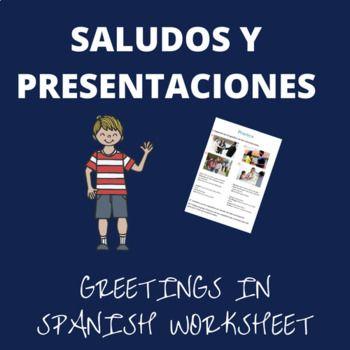Worksheets for your students to practice greetings and introductions in spanish. The worksheet includes a vocabulary guide and an exercise page. The worksheet includes greetings, farewells, expressions to introduce oneself and others.  _________________________________  Guía de trabajo para tus estudiantes puedan practicar saludos y presentaciones en español. La guía incluye una guía de vocabulario y una página de ejercicios. La guía incluye saludos, despedidas, expresiones para presentarse…