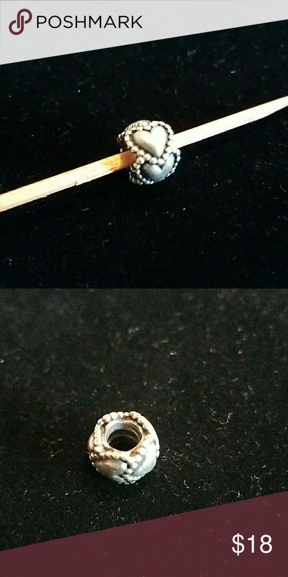 ?? SUNDAY SPECIAL ?? PANDORA BEAD Authentic PANDORA Heart Bead Perfect compliment with any bracelet or necklace Pandora Jewelry