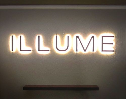 Illume Led Sign Backlit Channel Letters Marquee Design