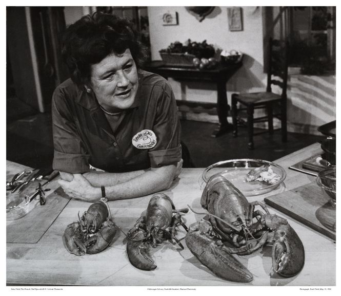 Lobster anyone? Julia Childs put Legal Seafoods (aka Legal Cash Market back then) on the map @ Inman square~Boston  back in the 60's, her show allowed people to have interest in  fish, seafood  & it's cooking of it.