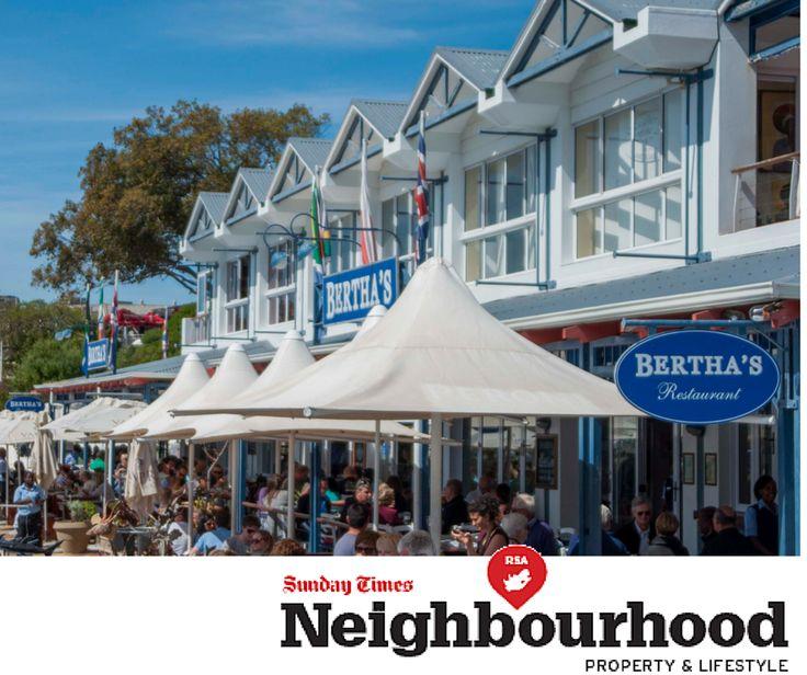Bertha's Restaurant in Cape Town-  Simon's Town Harbour