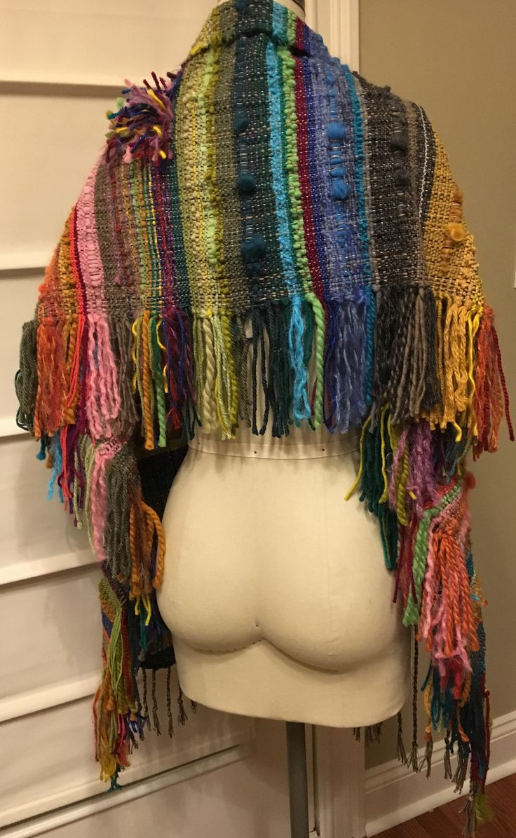 Hautemade scarves and shawls