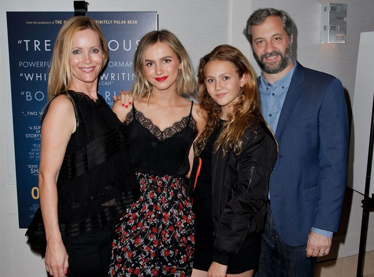 Leslie Mann, Maude Apatow, Iris Apatow & Judd Apatow from The Big Picture…