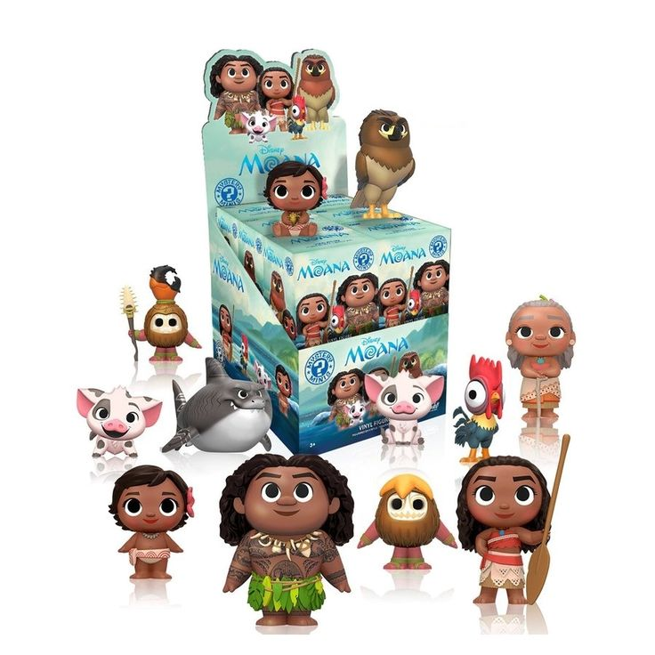Moana Mystery Minis - Single Blind Box