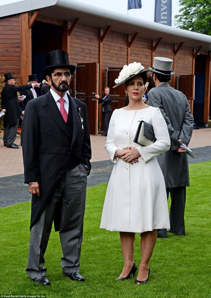 Sheikh Mohammed bin Rashid Al Maktoum of the United Arab Emirates, and Princess Haya bint al Hussein were in attendance
