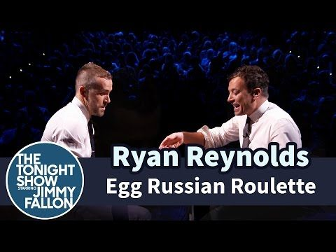 Egg Russian Roulette with Ryan Reynolds - YouTube