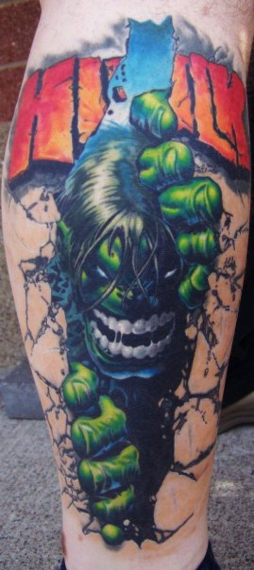 Top 20 Superhero Tattoo Designs