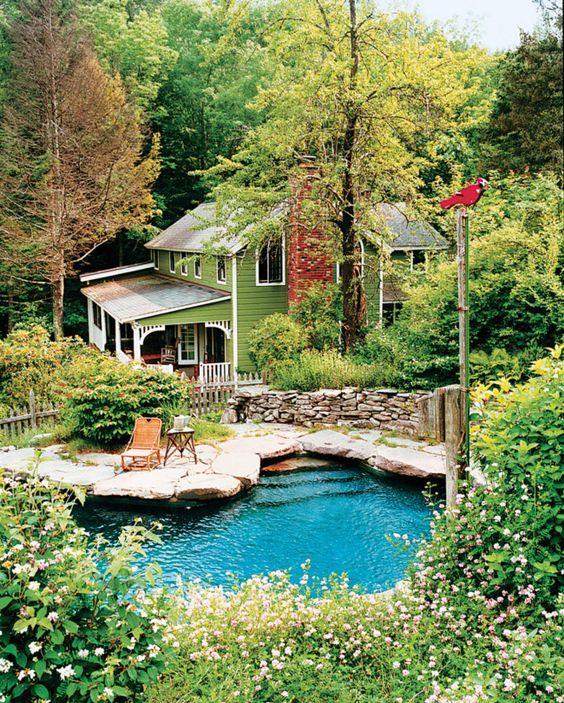 Casual & natural backyard pools | unpolished life | Bloglovin'