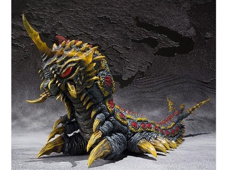 S.H. MonsterArts - Mothra & Battra Larva Set - Godzilla Figures