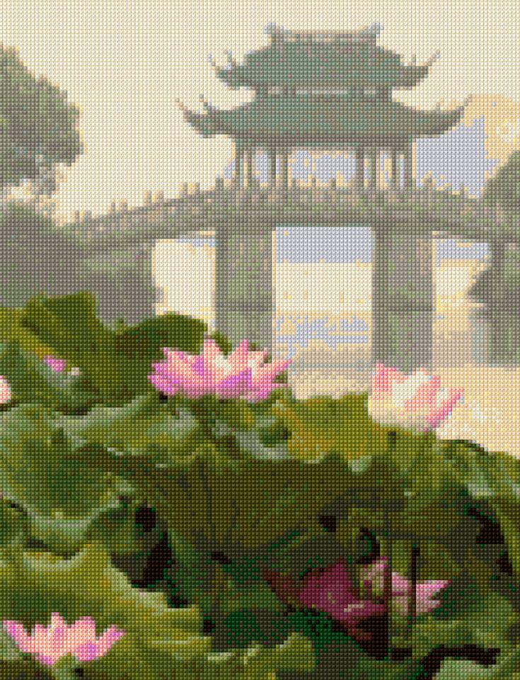 Mejores 420 Im Genes De Asian Cross Stitch En Pinterest
