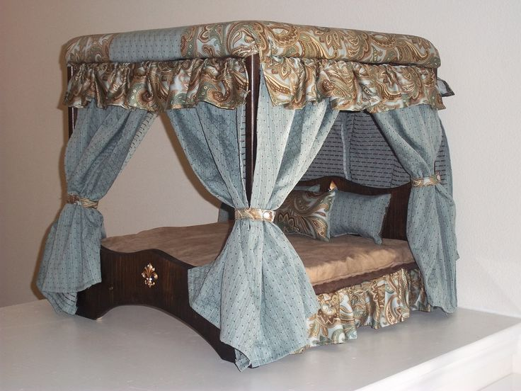 Emperor's Canopy Bed. $239.00, via Etsy.
