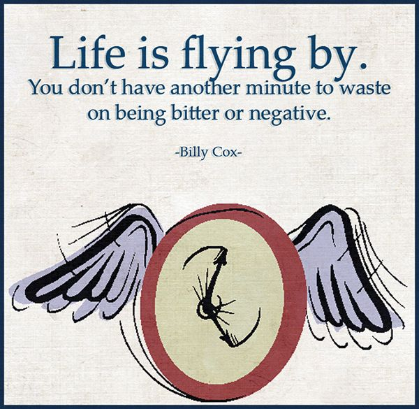 Life is flying by