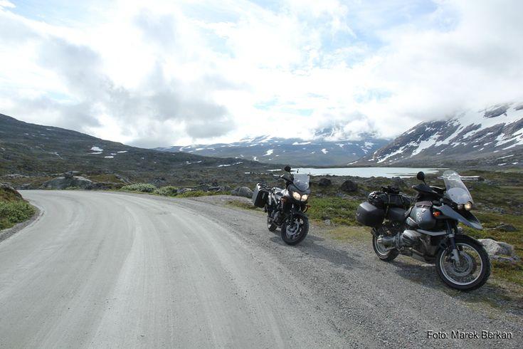 Norwegia na motocyklu