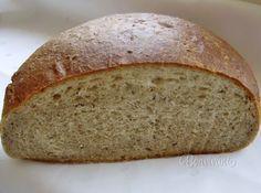 """""""Slovak Potato Bread"""" - A zasa jeden chlieb. Dnes nebude kváskový, ani pomaly kysnutý, ale taký môj rýchly recept na chutný šťavnatý chlebík. Začala som ho piecť kedysi, keď som žila pod Tatrami na dedine, kde obchod v sobotu doobeda zatvorili, v nedeľu prišla návšteva a na pondelok ráno nebolo čo na raňajky. Veľa ľudí odrádza práca s kváskom, či dlhé čakanie na vysoko hydratované cesto."""