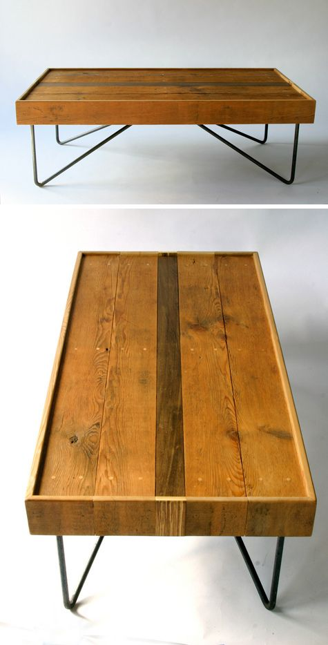 Inspirational Zur ckgefordert Couchtische Palettencouchtische Metall Tischbeine Holztische Holzm bel M bel Ideen Recycling m bel M bel Haus