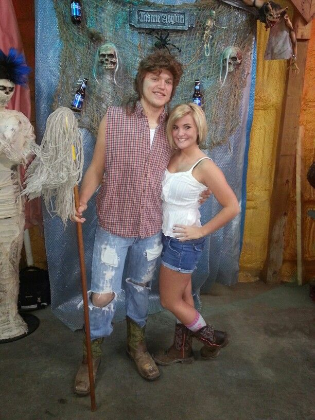 Joe Dirt and Brandi costume