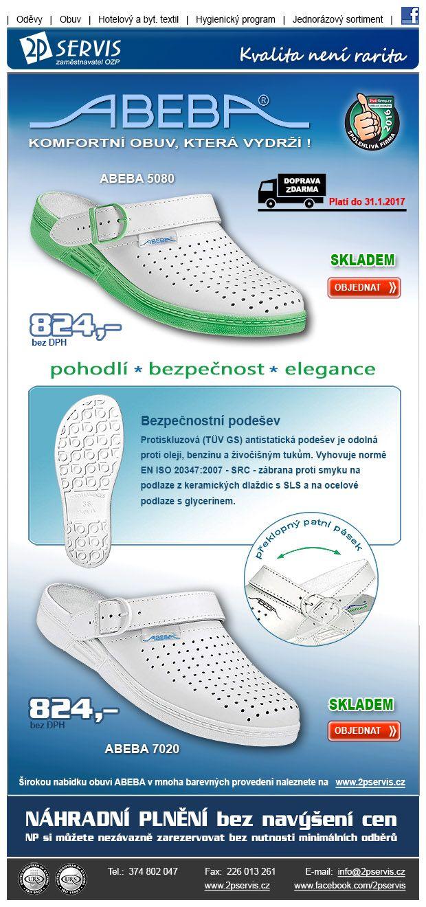 ★ ★Udělejte svým nohám dobře v certifikované obuvi – poštovné ZDARMA do 31.1.2017 ★ ★
