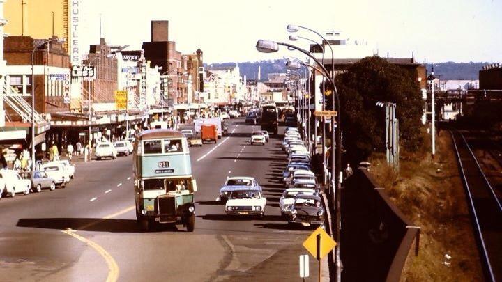 Hunter Street - Newcastle Old Days