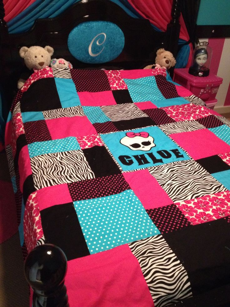 best 20 monster high bedroom ideas on pinterest monster high room monster high decorations. Black Bedroom Furniture Sets. Home Design Ideas