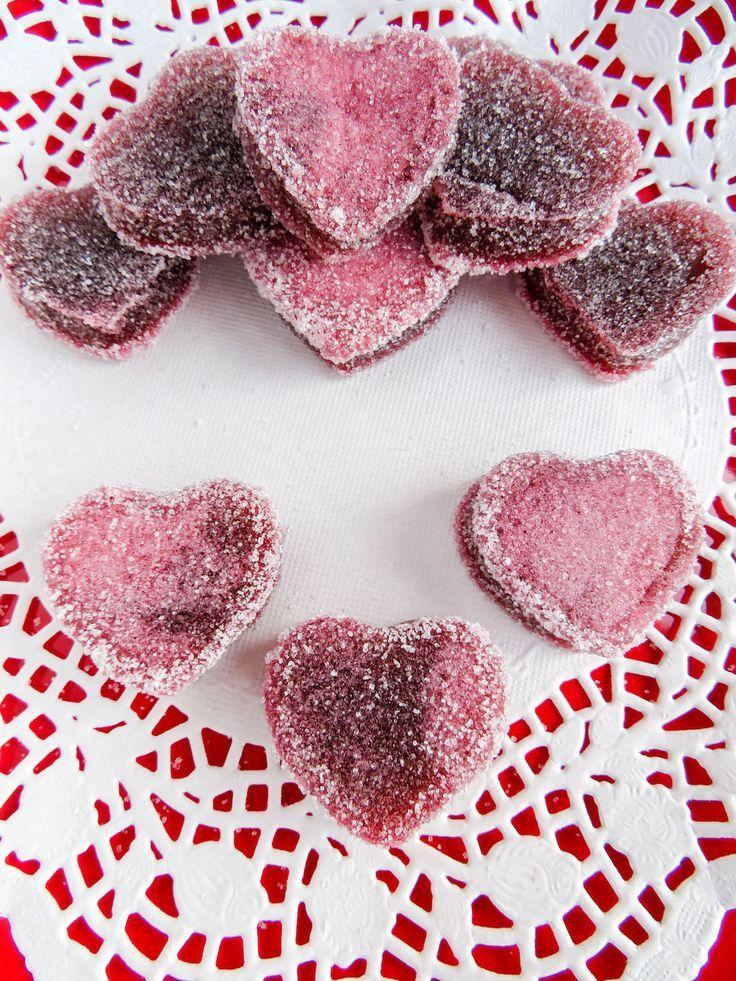 Valentineu0027s Day Heart Gummies: Jell O Treat Recipe