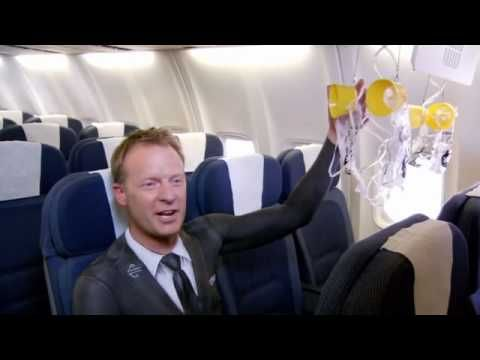 Bare essentials of safety from Air New Zealand  - Body painted Air NZ staff star in Bare Essentials of Safety video, created for Domestic 737 services